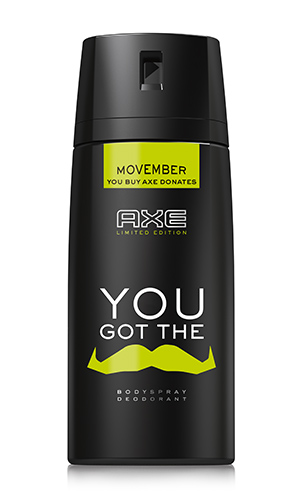 AXE MOVEMBER BODYSPRAY